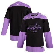 Wholesale Cheap Washington Capitals Adidas Hockey Fights Cancer Practice Jersey Black