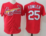 Wholesale Cheap Cardinals #25 Dexter Fowler Red New Cool Base Stitched MLB Jersey