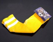 Wholesale Cheap Soccer Football Sock Yellow