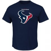 Wholesale Cheap Houston Texans Majestic Big & Tall Critical Victory T-Shirt Navy