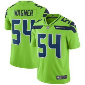 Wholesale Cheap Nike Seahawks #54 Bobby Wagner Green Men\'s Stitched NFL Limited Rush Jersey