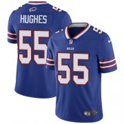 Wholesale Cheap Nike Bills #55 Jerry Hughes Royal Blue Team Color Men's Stitched NFL Vapor Untouchable Limited Jersey