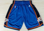 Wholesale Cheap Oklahoma City Thunder Blue Short