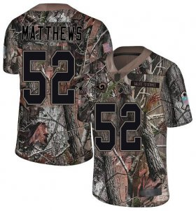 Wholesale Cheap Nike Rams #52 Clay Matthews Camo Youth Stitched NFL Limited Rush Realtree Jersey