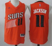 Wholesale Cheap Men's 2017 Draft Phoenix Suns #11 Josh Jackson Orange Stitched NBA adidas Revolution 30 Swingman Jersey