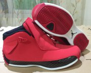 Wholesale Cheap Air Jordan 18 Chicago Bulls Red/Black-White