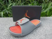 Wholesale Cheap Women's Jordan Hydro 6 sandals Shoes Grey/orange
