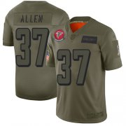 Wholesale Cheap Nike Falcons #37 Ricardo Allen Camo Youth Stitched NFL Limited 2019 Salute to Service Jersey