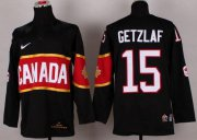 Wholesale Cheap Olympic 2014 CA. #15 Ryan Getzlaf Black Stitched NHL Jersey