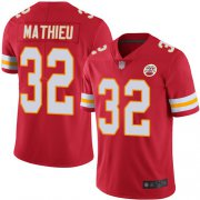 Wholesale Cheap Nike Chiefs #32 Tyrann Mathieu Red Team Color Youth Stitched NFL Vapor Untouchable Limited Jersey