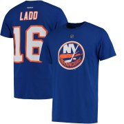 Wholesale Cheap New York Islanders #16 Andrew Ladd Reebok Name & Number T-Shirt Royal