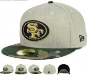Wholesale Cheap San Francisco 49ers fitted hats23