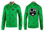 Wholesale Cheap NHL Los Angeles Kings Zip Jackets Green
