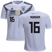 Wholesale Cheap Germany #16 Rudiger White Home Kid Soccer Country Jersey