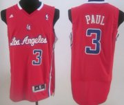 Wholesale Cheap Los Angeles Clippers #3 Chris Paul Red Swingman Jersey