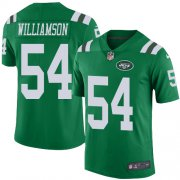 Wholesale Cheap Nike Jets #54 Avery Williamson Green Men's Stitched NFL Limited Rush Jersey