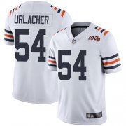 Wholesale Cheap Nike Bears #54 Brian Urlacher White Alternate Men's Stitched NFL Vapor Untouchable Limited 100th Season Jersey