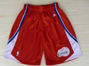 Wholesale Cheap Los Angeles Clippers Red Short
