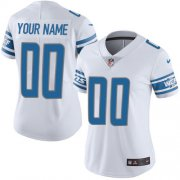 Wholesale Cheap Nike Detroit Lions Customized White Stitched Vapor Untouchable Limited Women's NFL Jersey