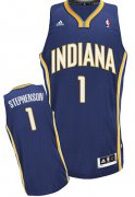 Wholesale Cheap Indiana Pacers #1 Lance Stephenson Navy Blue Swingman Jersey