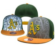 Wholesale Cheap MLB Oakland Athletics Snapback Ajustable Cap Hat 9