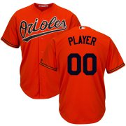 Wholesale Cheap Baltimore Orioles Majestic Cool Base Custom Jersey Orange