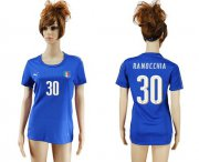 Wholesale Cheap Women's Italy #30 Ranocchia Home Soccer Country Jersey