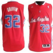 Wholesale Cheap Los Angeles Clippers #32 Blake Griffin Revolution 30 Swingman Red Jersey