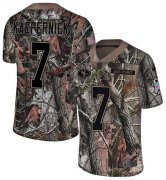 Wholesale Cheap Nike 49ers #7 Colin Kaepernick Camo Youth Stitched NFL Limited Rush Realtree Jersey