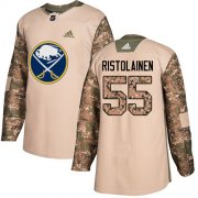 Wholesale Cheap Adidas Sabres #55 Rasmus Ristolainen Camo Authentic 2017 Veterans Day Youth Stitched NHL Jersey