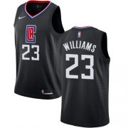 Wholesale Cheap Nike Clippers #23 Louis Williams Black NBA Swingman Statement Edition Jersey