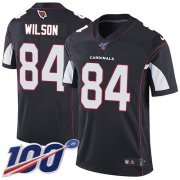 Wholesale Cheap Nike Cardinals #84 Caleb Wilson Black Alternate Men's Stitched NFL 100th Season Vapor Limited Jersey