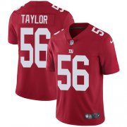 Wholesale Cheap Nike Giants #56 Lawrence Taylor Red Alternate Men's Stitched NFL Vapor Untouchable Limited Jersey