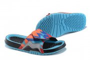 Wholesale Cheap Women's Jordan Hydro 7 Shoes Blue/orange-black