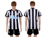 Wholesale Cheap Newcastle Blank Home Soccer Club Jersey