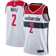 Wholesale Cheap Nike Washington Wizards #2 John Wall White NBA Swingman Jersey