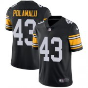 Wholesale Cheap Nike Steelers #43 Troy Polamalu Black Alternate Youth Stitched NFL Vapor Untouchable Limited Jersey