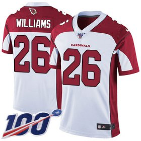 Wholesale Cheap Nike Cardinals #26 Brandon Williams White Men\'s Stitched NFL 100th Season Vapor Limited Jersey