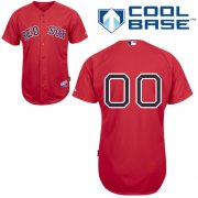 Wholesale Cheap Red Sox Personalized Authentic Red MLB Jersey (S-3XL)