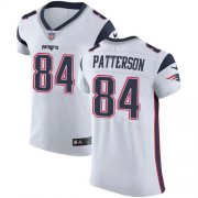 Wholesale Cheap Nike Patriots #84 Cordarrelle Patterson White Men's Stitched NFL Vapor Untouchable Elite Jersey