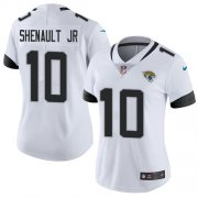Wholesale Cheap Nike Jaguars #10 Laviska Shenault Jr. White Women's Stitched NFL Vapor Untouchable Limited Jersey
