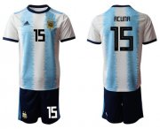 Wholesale Cheap Argentina #15 Acuna Home Soccer Country Jersey