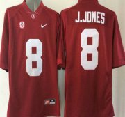 Wholesale Cheap Alabama Crimson Tide #8 Julio Jones Red 2015 College Football Nike Limited Jersey