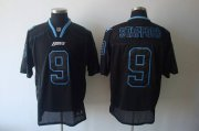 Wholesale Cheap Lions #9 Matthew Stafford Lights Out Black Stitched NFL Jersey