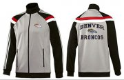Wholesale NFL Denver Broncos Heart Jacket Grey