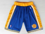 Wholesale Cheap Golden State Warriors Blue Throwback Short
