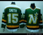 Wholesale Cheap Stars #15 Bobby Smith Stitched Green CCM Throwback NHL Jersey