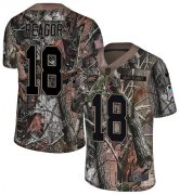 Wholesale Cheap Nike Eagles #18 Jalen Reagor Camo Men's Stitched NFL Limited Rush Realtree Jersey