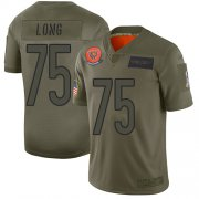 Wholesale Cheap Nike Bears #75 Kyle Long Camo Men's Stitched NFL Limited 2019 Salute To Service Jersey