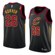 Wholesale Cheap Men's Nike Cavaliers #26 Kyle Korver Black Stitched NBA Swingman Jersey
